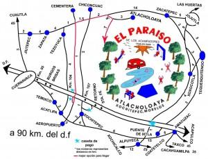 Mapa al Paraiso